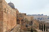 Heiligen stätten von jerusalem — Stockfoto