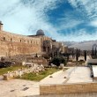 Destroyed holy places of Jerusalem — Stock Photo #9924435