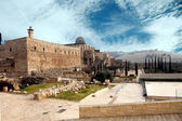 Destroyed the holy places of Jerusalem — Stock Photo