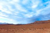 небо над пустыней — Стоковое фото