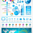 Premium infographics master collection — Stock Vector #8496994