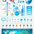 Premium infographics master collection - Stockvectorbeeld