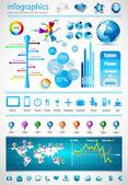 Coleção master de infográficos premium — Vetorial Stock