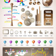 Premium infographics master collection — Stock Vector #8637088