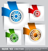 """Paper Style """"TOP CHOICE"""" — Stock Vector"""