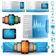 Royalty-Free Stock Vector Image: Premium templates and Web stuff  master collection: