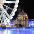 Stock Photo: Empty Icerink, Winterwonderland, Cardiif.