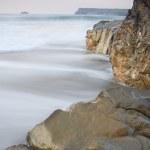������, ������: Motion Blurred Waves Cornwall UK