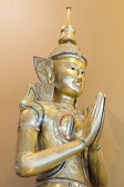 Thai Teppanom Angel Statue Closeup — Stock Photo