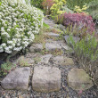 Garden Stone Steps — Stock Photo