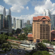 Kuala Lumpur Daytime Cityscape - Stock Photo