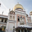 Masjid Sultan Mosque in Singapore — Stock Photo