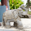 Stock Photo: Stone Carving East IndiElephant