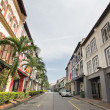 Singapore Preserved Historic Peranakan Houses — Stock Photo