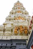 Gopuram de temple hindou Sri senpaga vinayagar — Photo