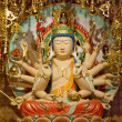 Longevity Bodhisattva Samantabhadra Goddess Statue — Stock Photo