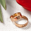 Wedding rings - Lizenzfreies Foto