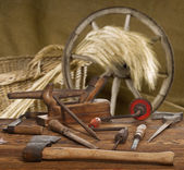 Old tools — Stockfoto