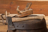 Old tools — Stock fotografie