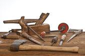 Gamla verktyg — Stockfoto