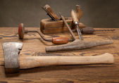 Oude tools — Stockfoto