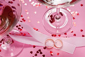 Svatby prsten — Stock fotografie
