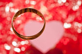 Golden ring — Foto Stock