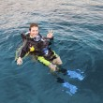 Scuba diver — Foto Stock