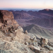 Dawn in Sinai Mountains — Foto de Stock