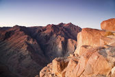 Mount Moses and Saint Catherine in Sinai Peninsula — Stock Photo