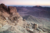 Dawn in Sinai Mountains — Stock Photo