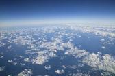 Wolken von oben — Stockfoto