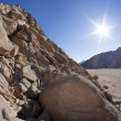 Landscape of Sinai, Egypt, North Africa — Stock Photo