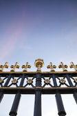 Buckingham Palace Fence — Stock Photo