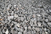 Close-up of Crushed rock / gravel — Stock Photo