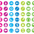 Icon set — Stock Vector #9422651