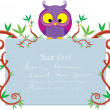 List owl - Stock Vector