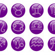 Zodiac buttons — Stock Photo #8055014