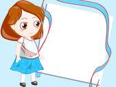 Child frame — Stock Photo