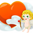 Valentine's cupid — Stock Photo #8940062