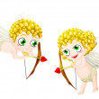 Valentine's cupid — Stock Photo