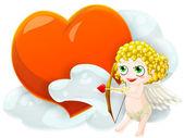 Valentine's cupid — Stockfoto