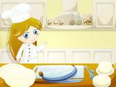 Sweet chef — Stock Photo
