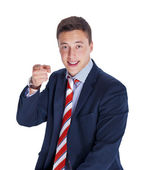 Boss pointing a finger — Stock Photo