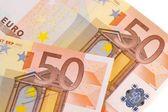 50-euro banknotes — Stock Photo