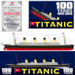 Titanic 100 Years Anniversary — Stock Vector