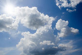 Clouds in sky — Stock Photo