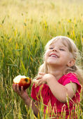 Healthy child — Stock Photo
