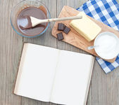 Recipe book — Stock Photo
