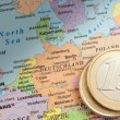 Germany and the euro — Stock Photo